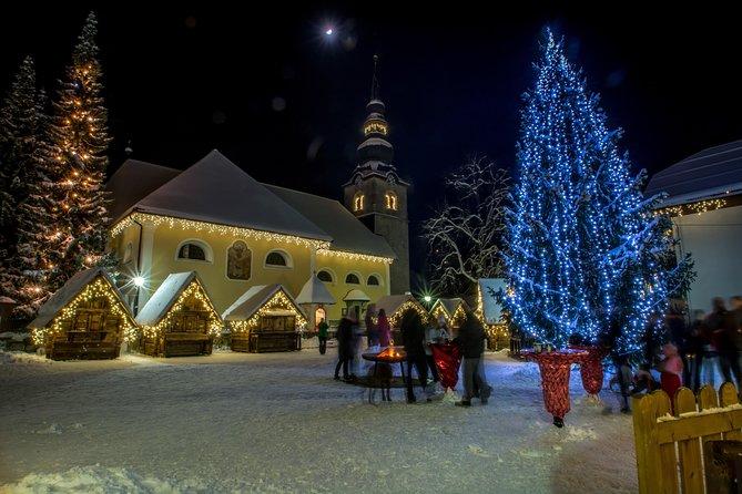 Winter Fairytale in Kranjska Gora and Lake Bled from Ljubljana