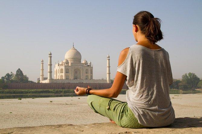 Heritage Walk Tour with Spiritual Yoga in AGRA