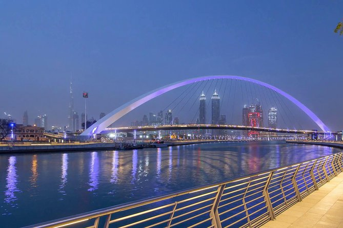 Dubai Water Canal Dinner Cruise With Pickup & Dropoff