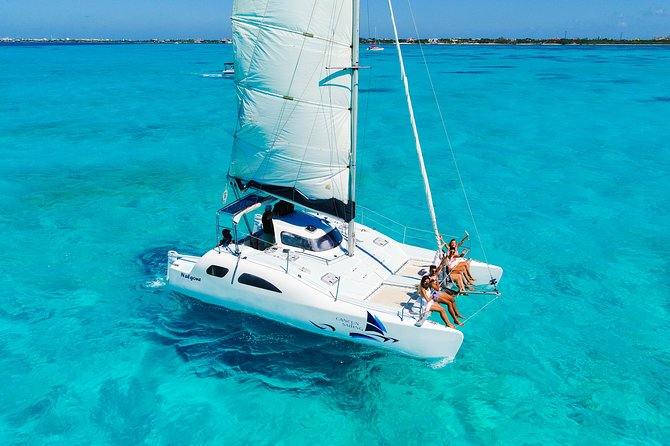 Private Isla Mujeres Catamaran Tour From Cancun with Open Bar