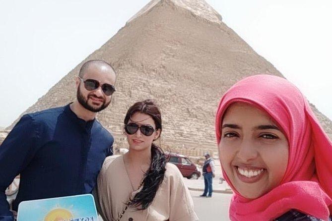 Saqqara, Imhotep museum , Giza pyramids & sphinx
