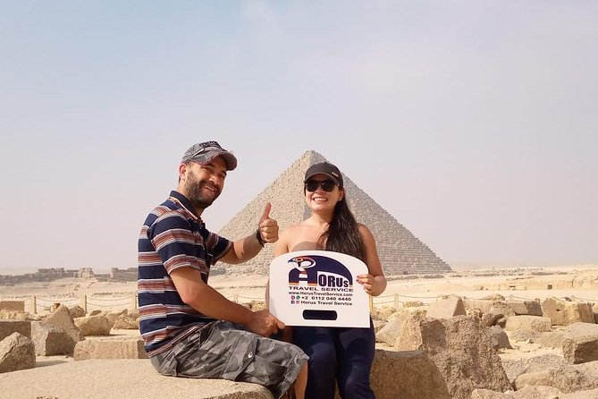 Private Day Tour to Giza Pyramids, Sphinx, Sakkara and Memphis