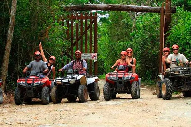 Atv + Cenote + Zipline From Cancun (Transportation & Lunch Included) photo 1