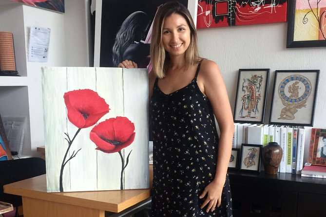 Cancun - Your private 5-hour personalized painting workshop for up to 4 people