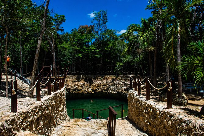 Atv + Cenote + Zipline From Cancun (Transportation & Lunch Included) photo 4