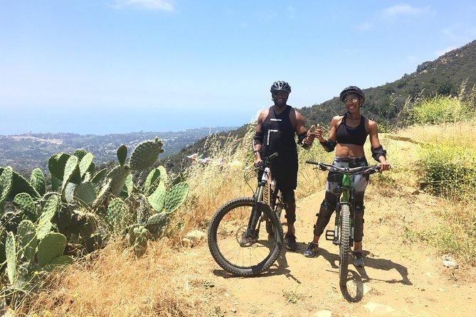 Amazing views on a Mountain Bike tour of Romero Canyon