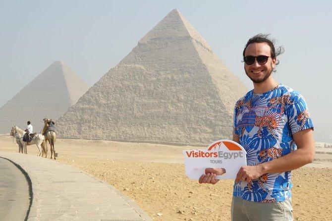 Giza Pyramids & Sphinx & Camel Tour