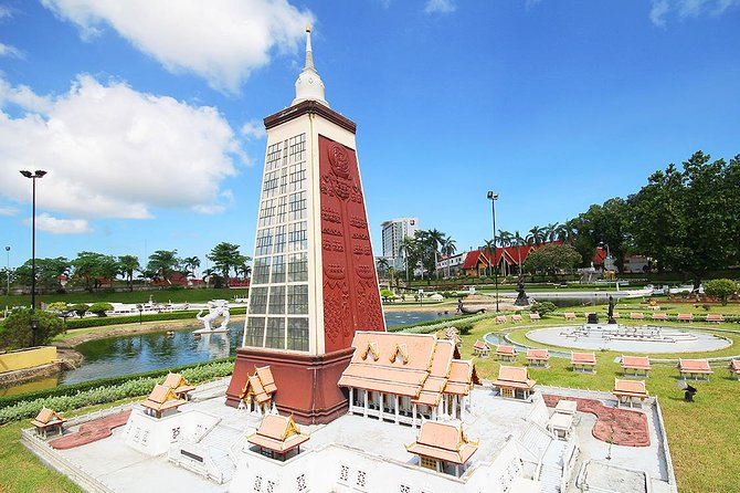 Mini Siam Miniature World in Pattaya with Roundtrip Transfer