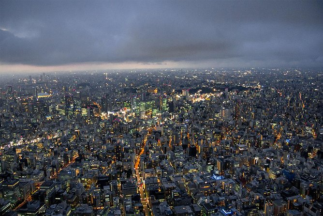 【18 Minutes】Tokyo City Lights Helicopter Tour 1