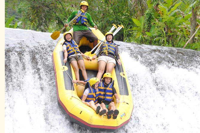"The BEST White Water Rafting in Bali ""TELAGA WAJA"""