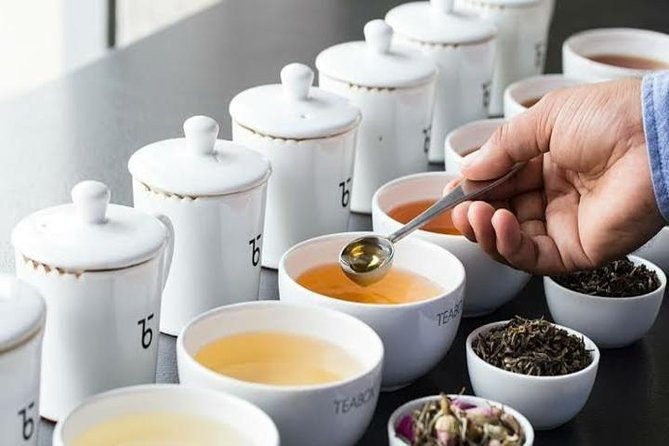 Unique local tea testing