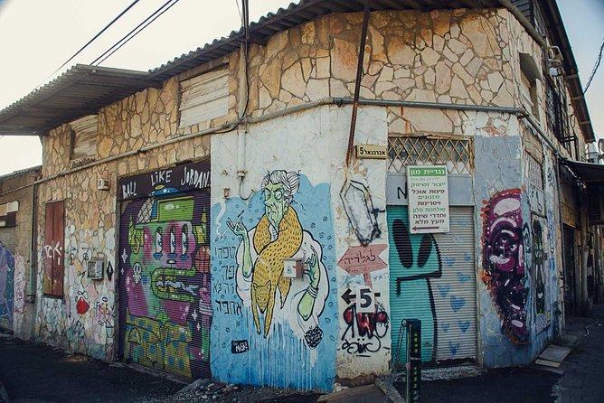 Food, Art & culture through Florentin (Tel Aviv)
