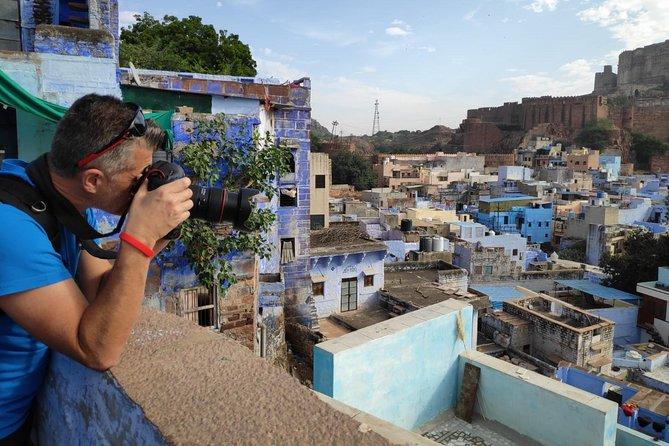 Jodhpur Mehrangarh Fort and Blue City Guided Tour
