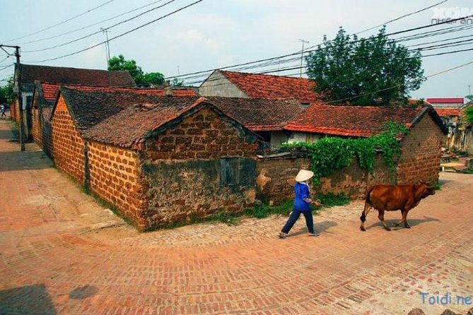 Duong Lam Ancient Village and Mia Pagoda private tour full day