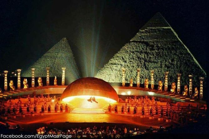 Sound & Light Show At The Pyramids Of Giza photo 8