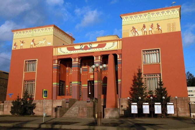 Private City tour of Krasnoyarsk with visit of the Regional museum