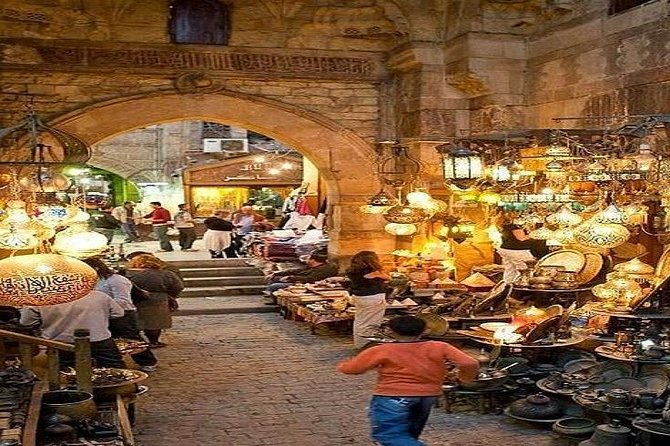 Old Cairo and Khan El Khalili Bazaar: Private Half-Day Tour
