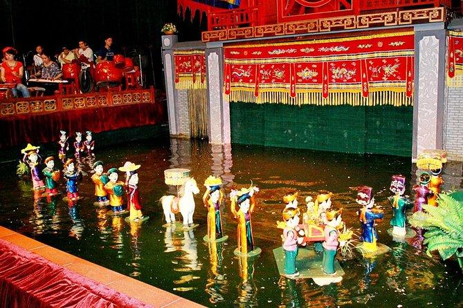Evite as filas: ingressos para bonecos de água Thang Long