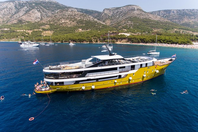 Supreme cruise from Split on a luxury yacht, m/s Arca