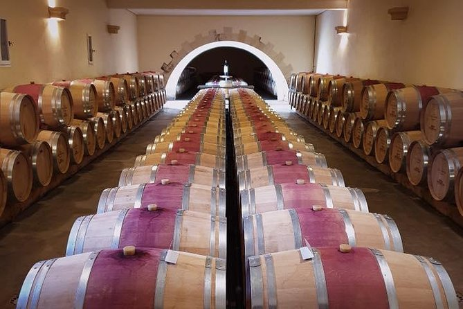 Visit of the Castle and Wine Tasting at the Barrel