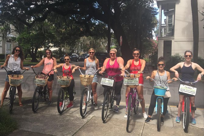 Savannah's Historical Bike Tour and Bike Rental Package