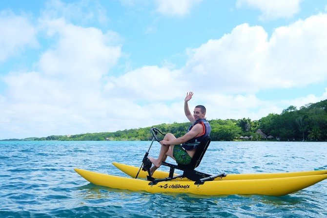 Bacalar sunrise villa experience by water bike