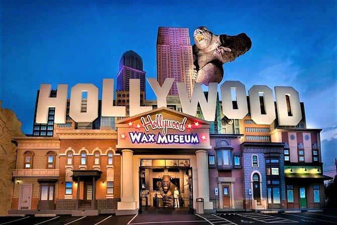 Sla de wachtrij over: toegangsbewijs Hollywood Wax Museum Branson