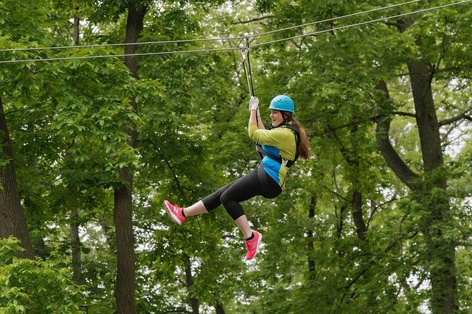 Treetop Adventure Zipline Ticket