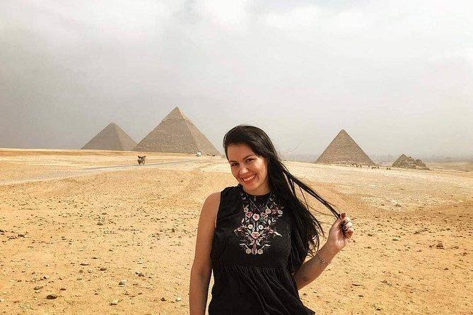 Full day tour to GIZA PYRAMIDS MEMPHIS CITY AND SAKKARA PYRAMID