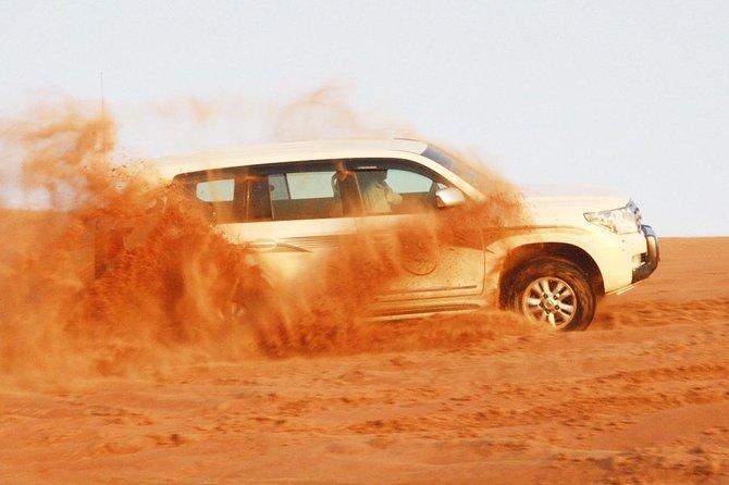 Dubai 4 Tours with safari, City tour, Cruise & Abu dhabi tour with ferrari world
