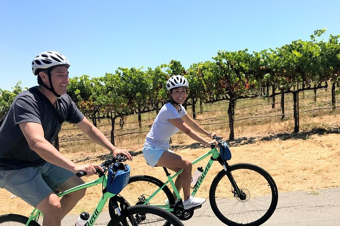 Guided Healdsburg Wine Country Bike and Wine Tasting Tour with lunch