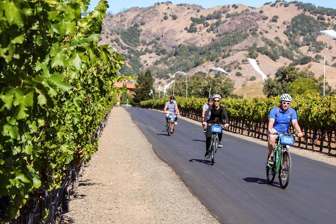 Calistoga Country Bike and Wine Tasting Tour