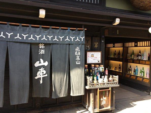 Food and wine tour in Takayama