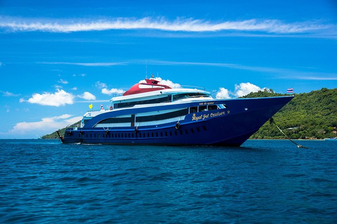 Phi Phi Island Tour by Royal Jet Cruiser from Phuket with Speedboat Sightseeing