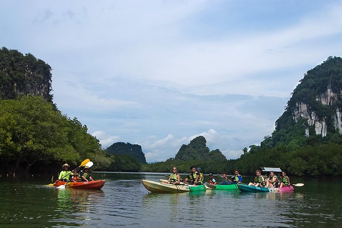 Ban Bor Thor Kayaking Full-Day Tour from Krabi with Lunch