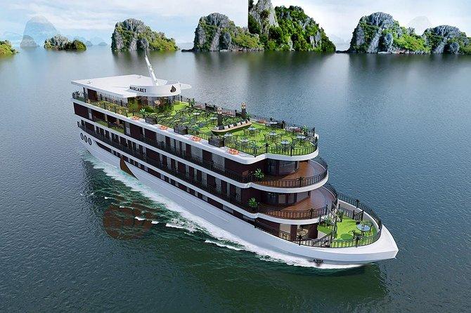 Halong Bay Margaret Luxury Cruise 2 Days 1 Night