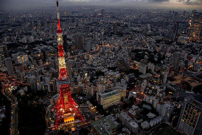 【35 Minutes】Tokyo City Lights Helicopter Tour 3