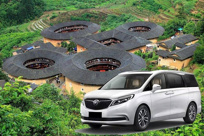 Private Transfer between Xiamen City and Tianluokeng Tulou Cluster