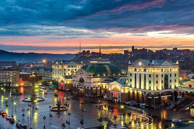 The Trans-Siberian Railway in Krasnoyarsk Private Tour