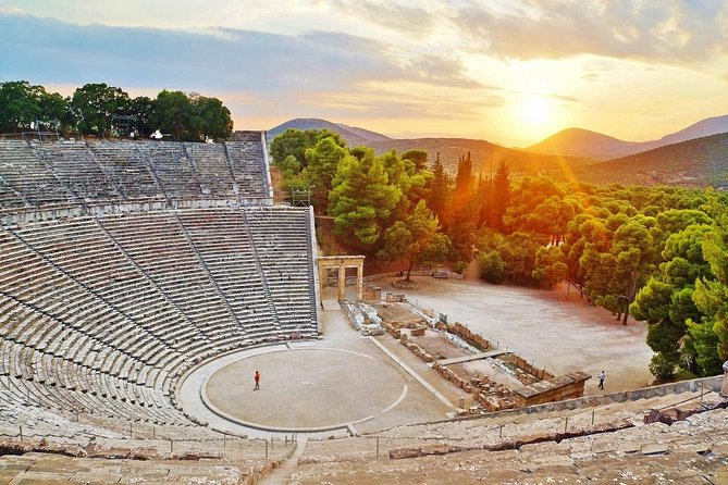 4 Day Tour at UNESCO's Heritage Historic Gems, Mycenae, Olympia, Delphi, Meteota