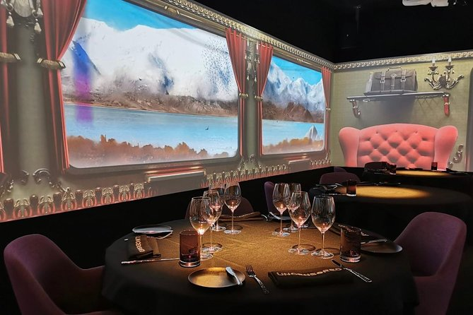 audio visual multi-sensory chefs journey dinner experience