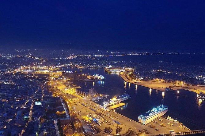 Transfer from Piraeus cruise port to Athens airport Night Shift 22:30PM-06:29AM