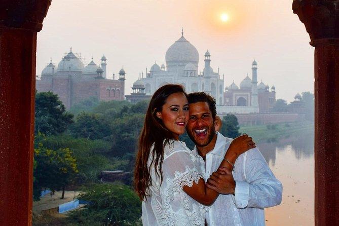 Golden Triangle with Sunrise and Sunset Taj Mahal Visit