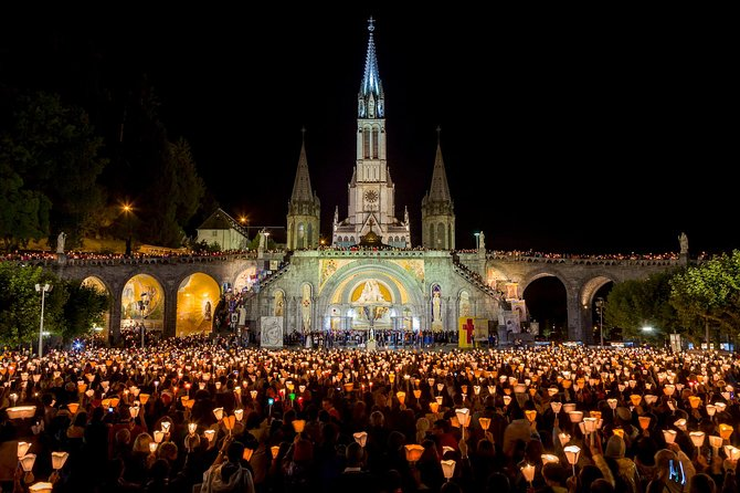 Paris, Lisieux, Mont St. Michel, Nevers & Lourdes, Private 6-Day Pilgrimage