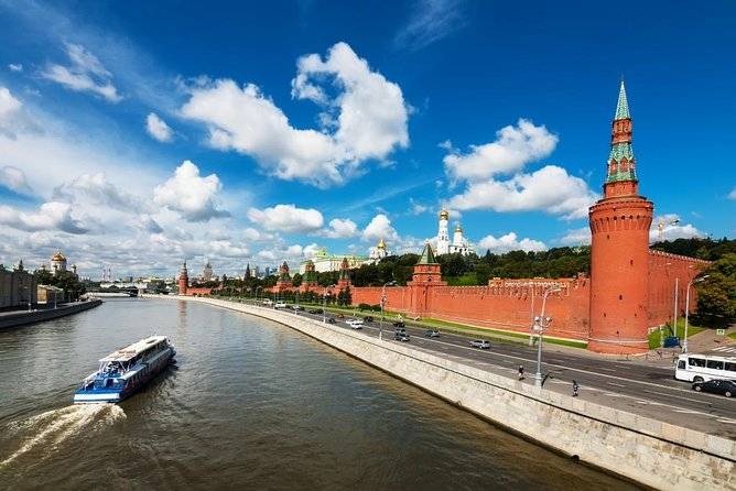 Moscow River Boat Tour