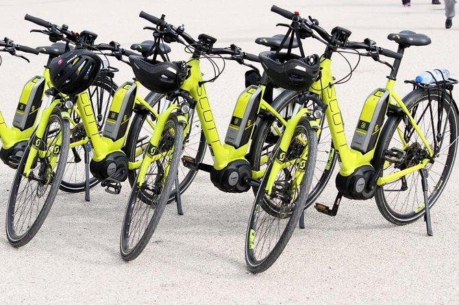 Excursão de 3h com bike elétrica pelo Cristo Rei ao sul de Lisboa
