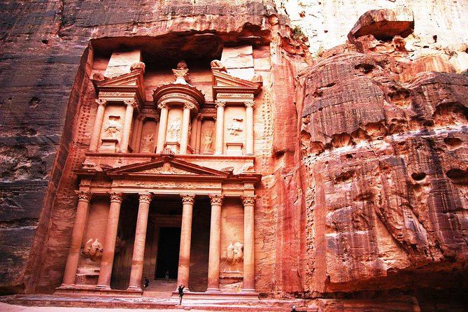 Petra city from Aqaba port