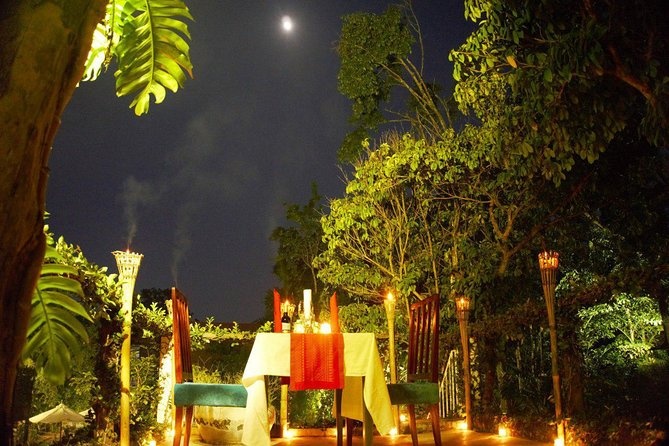 Rooftop Romantic Dinner - 4 Courses Set Meal & Wine
