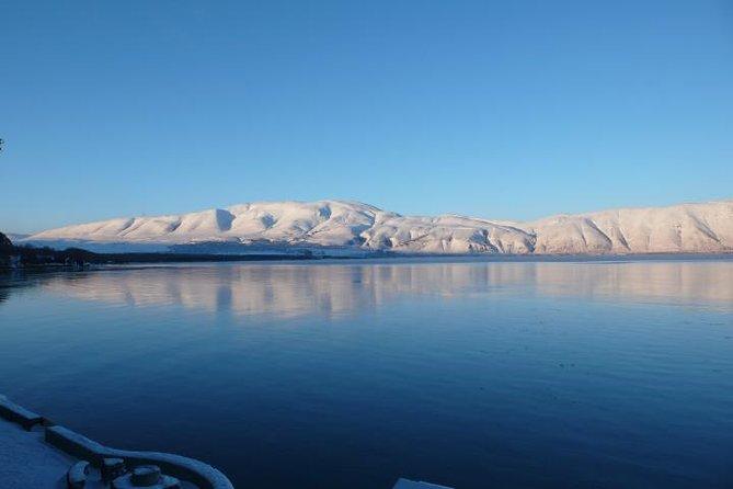 Winter experience in Lake Sevan (Sevanavank)