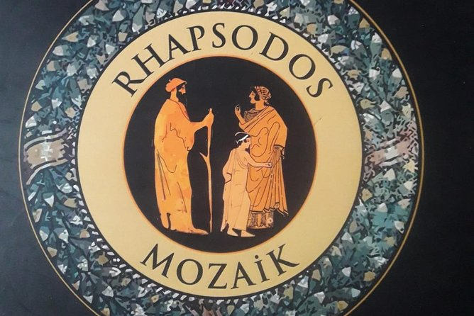 """""""A Tale of Troy In Mosaic Portraits"""" a unique exhibition in Rhapsodos Mozaik"""